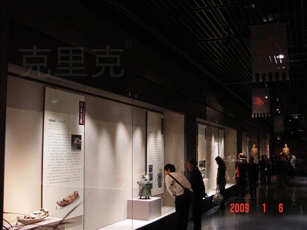 深圳博物馆新馆展柜制作案例