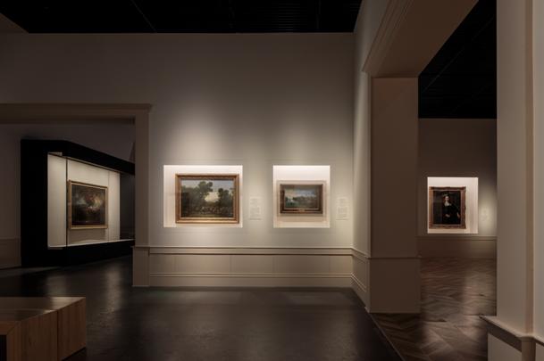 成都博物馆展厅内部设计风格