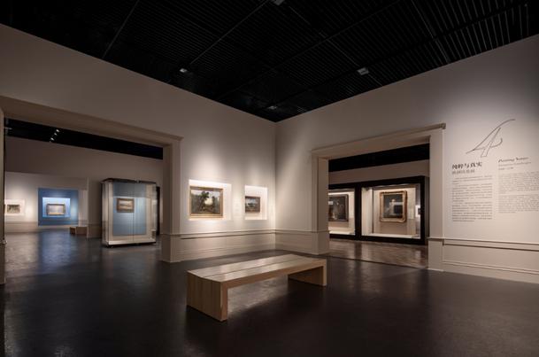 成都博物馆展厅内部设计