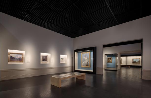 成都博物馆展厅内部设计实拍图